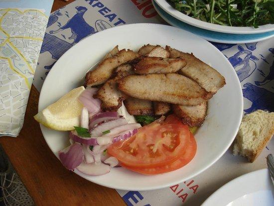 50-50: Apaki, fried pork slices