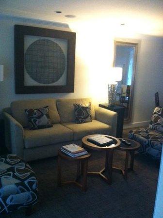 Silverado Resort and Spa: Living area