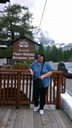 Hotel Chalet Valdotain : Arrivo al Lago Blu