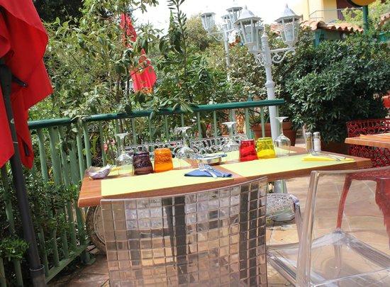 Le Poisson Rouge : La terrasse