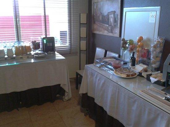Hotel Fuente El Cura : Zona de desayunos