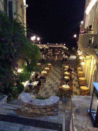 Restaurant Cinque Archi: La vue de la terrasse !