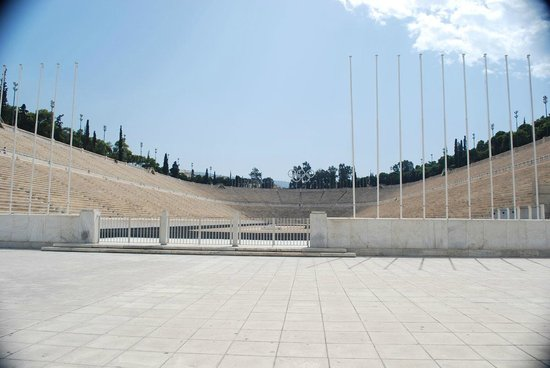 Olympic Athletic Center of Athens O.A.K.A. Spiros Louis : Stadium at Olympic Center