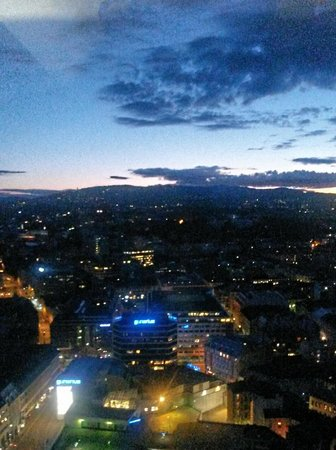 Radisson Blu Scandinavia Hotel: View from my room
