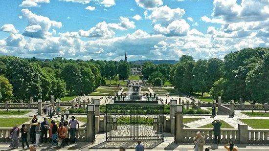 Radisson Blu Scandinavia Hotel: Beautiful Frogner Park!