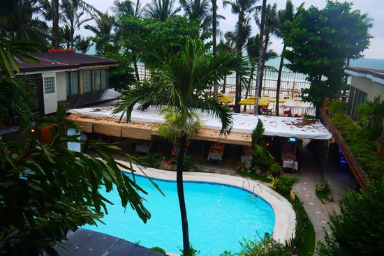 Red Coconut Beach Hotel: view from room