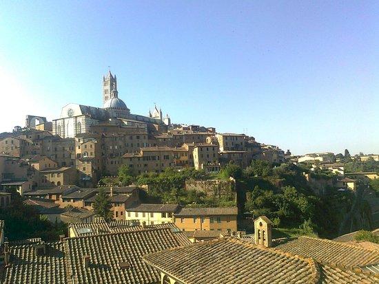 Albergo Bernini : Zdjęcie wykonane z tarasu widokowego hotelu