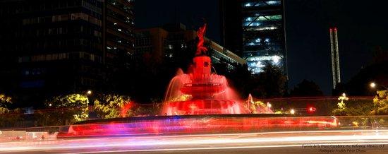 Paseo de la Reforma: Fuente de la Diana Cazadora