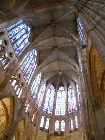 Catedral de León - Santa María de Regla: vista interior