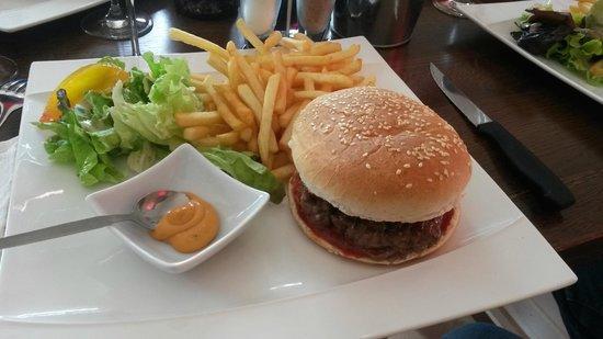 La Piazza Pizzeria : ZE Buby Burger !