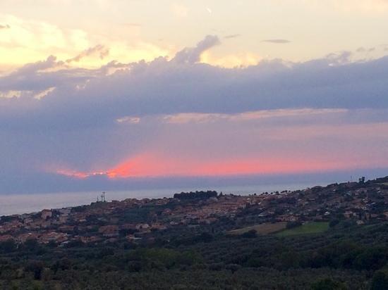 Osteria Dal Conte: Aussicht