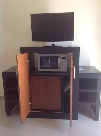 Las Costas: TV stand Kitchen & ironing board
