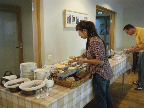 Strandnas Hotel: desayuno buffet