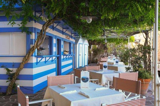 Grand Hotel Ambasciatori: Beach Snack-Bar
