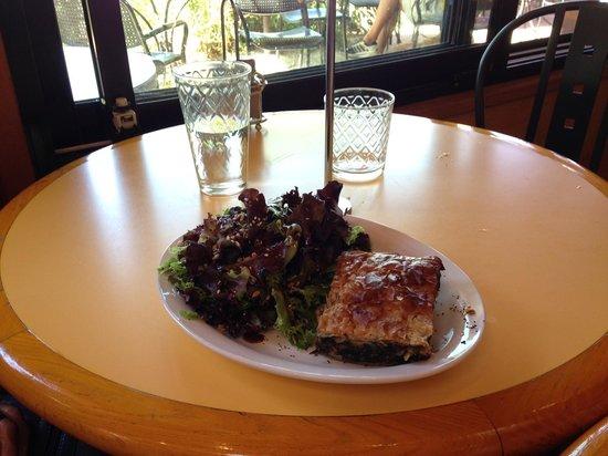 Nancy's Bakery | Lund BC: Nettle-kopita with greens