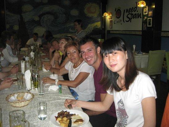 Don Quijote Spanish Restaurant : parte del grupo