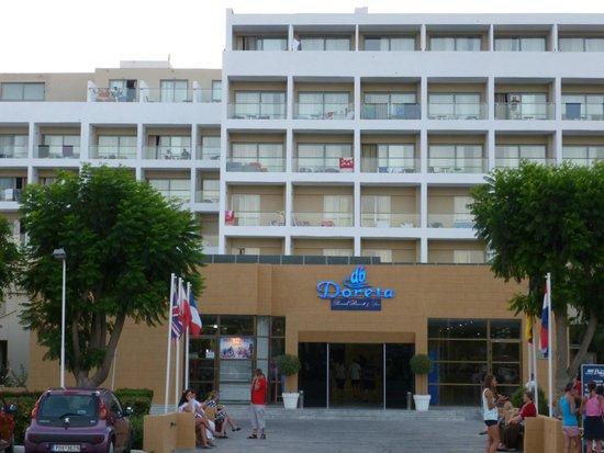 Doreta Beach Hotel : Wejście do hotelu
