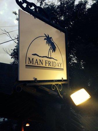 Man Friday: Entrance