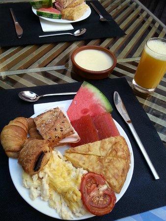 Hotel Acta Mimic: Het ontbijt