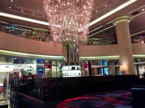 Beijing Marriott Hotel City Wall : Lobby Bar Area
