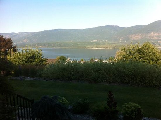 Destination Spa Bed & Breakfast : Shuswap lake from the patio