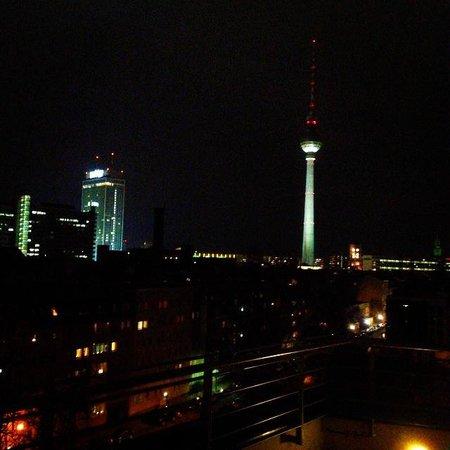 Wombat's Berlin: Vue du 7ème étage sur le toit