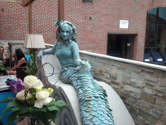 Providence Marriott Downtown: Mermaid at Client Appreciation Party