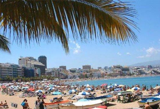 Hostal Kasa Gran Canaria: Playa Las Cantera