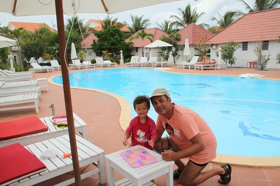 Paris Beach Village Phu Quoc: Piscine