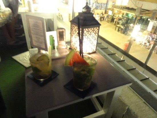 Kactus Café: Mojitos are very nice