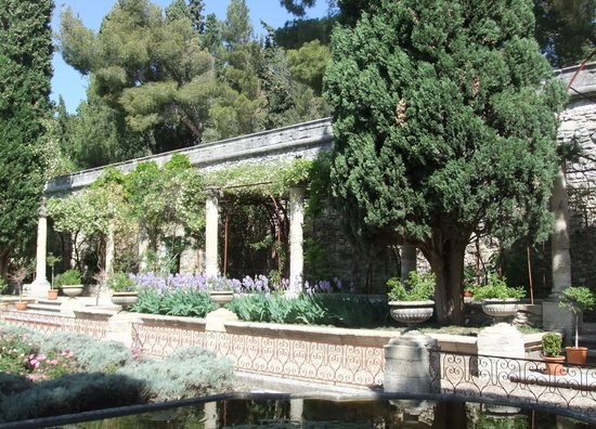 Jardins de l'abbaye Saint-André : Сады