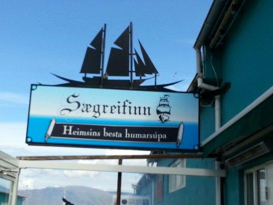 Saegreifinn - The Sea Baron : Logo