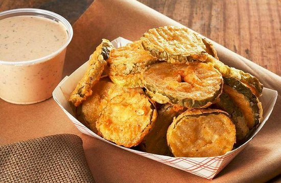 City Barbeque Reynoldsburg: Fried Pickles & Chipotle Ranch