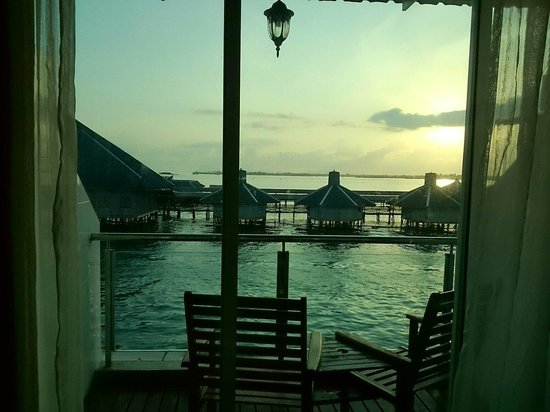 Sipadan Inn 2: Perfect morning view
