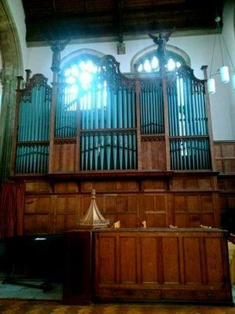 Weymouth, UK: Orgel.