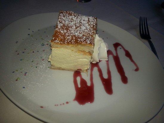 Restaurant Pizzeria Steiner : Pasta sfoglia alla Crema