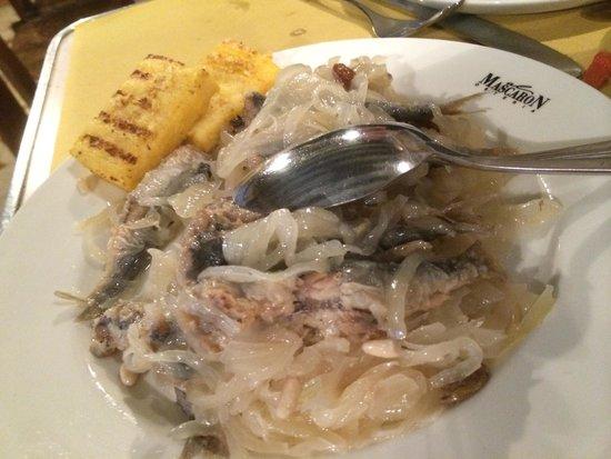 Osteria Al Mascaron: Venice cuisine