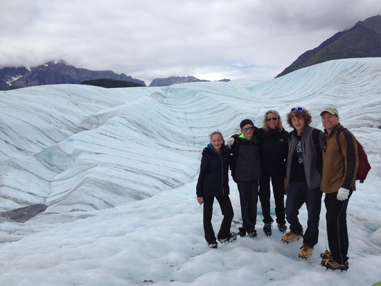 St. Elias Alpine Guides Day Adventures : Root Glacier July 2014