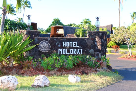 Welcome to Hotel Molokai (Entrance)