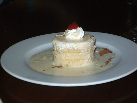 Meliá Caribe Tropical: 3 leches dessert
