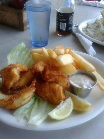 River's End: Fish and chips
