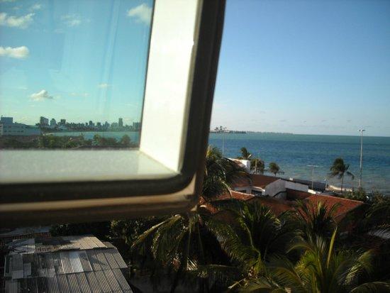 Verdegreen Hotel: Vista dos quartos laterais.