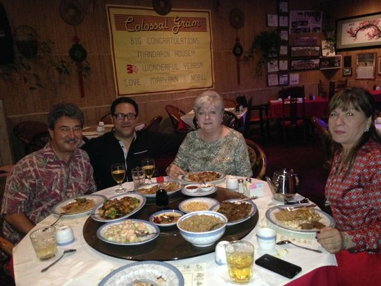 Mandarin House Restaurant : gran comida al centro