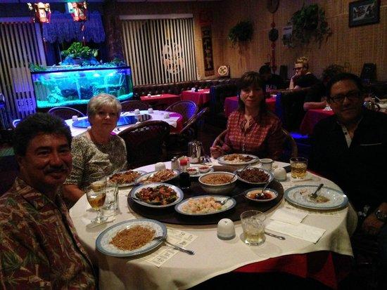 Mandarin House Restaurant : empieza el festín