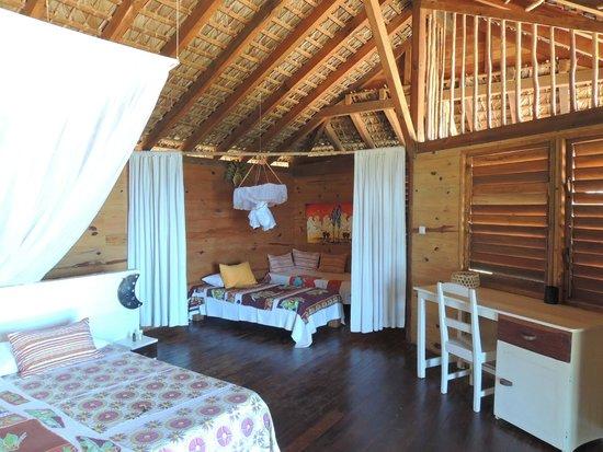 Anjiamarango Beach Resort : Dans le bungalow 24