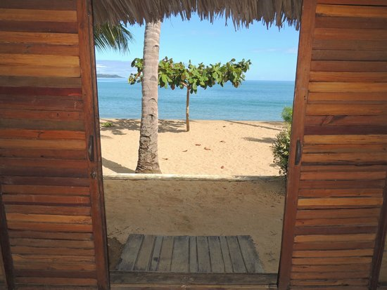 Anjiamarango Beach Resort : Vue depuis le bungalow