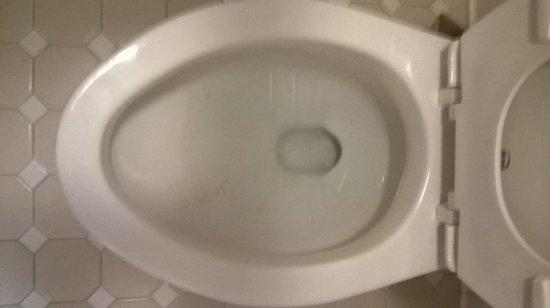 Americas Best Value Inn - Collinsville / St. Louis: Unknown spots inside bowl of toilet