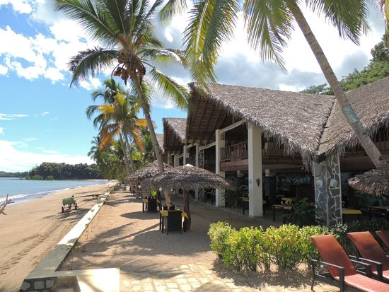 Anjiamarango Beach Resort: Espace Restaurant/Bar