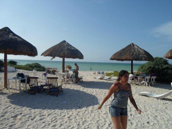 Technotel Merida Norte: Área da praia