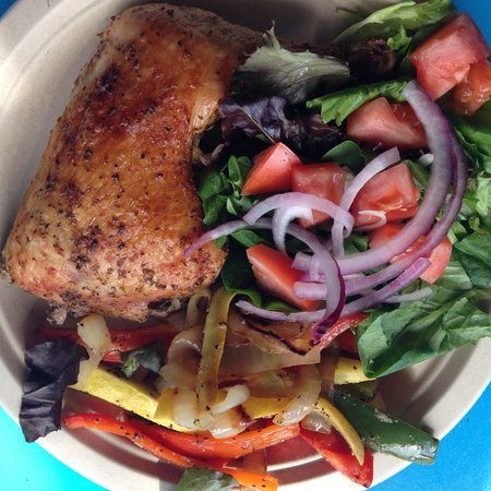 Athenian Grill: Roasted Chicken